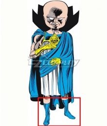 Marvel What IF The Watcher Uatu Blue Shoes Cosplay Boots