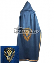 World of Warcraft Stormwind City Only Cloak Cosplay Costume