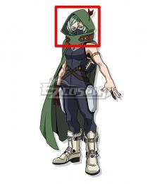 My Hero Academia World Heroes Mission Beros Green Cosplay Wig
