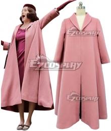 The Marvelous Mrs. Maisel Season 1 Miriam'Midge' Maisel Pink Cosplay Costume Only Coat