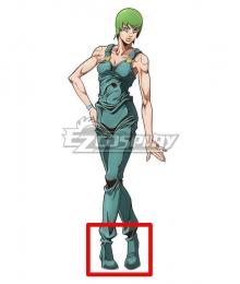 JoJo's Bizarre Adventure: Stone Ocean Anime Foo Fighters F·F Green Cosplay Shoes