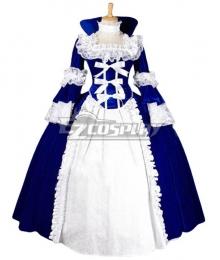 Women Girls Gothic Lolita Long Sleeves Classic Lolita Dress Multi Colors Costume 1J