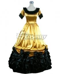 Women Girls Gothic Lolita Short Sleeves Classic Lolita Dress Multi Colors Costume 1N