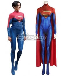 DC The Flash 2022 Movie Supergirl Jumpsuit Zentai Halloween Cosplay Costume