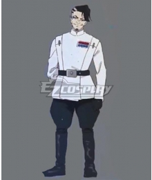 Star Wars: Visions Jedi Knight Male Halloween Cosplay Costume