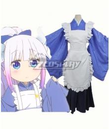 Miss Kobayashi's Dragon Maid Kanna Kamui Maid Cosplay Costume