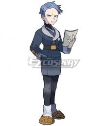 Pokemon Pokémon Legends: Arceus Captain Cyllene Halloween Cosplay Costume