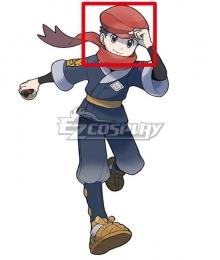 Pokemon Pokémon Legends: Arceus Male protagonist Rei Black Cosplay Wig