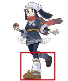 Pokemon Pokémon Legends: Arceus Female protagonist Akari Brown Cosplay Shoes