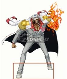 One Piece Akainu Sakazuki White Cosplay Shoes