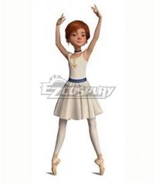 Disney Ballerina Felicie Cosplay Costume
