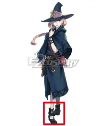 The Great Ace Attorney Chronicles Esmeralda Tusspells Blue Cosplay Shoes