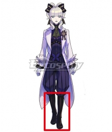 The Great Ace Attorney Chronicles Maria Gorey Black Shoes Cosplay Boots