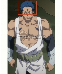 That Time I Got Reincarnated as a Slime Tensei Shitara Suraimu Datta Ken Season 2 Dagruel Blue Cosplay Wig