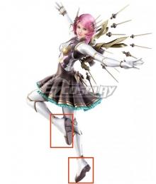 Tekken 7 Alisa White Cosplay Shoes