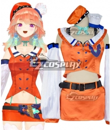 Virtual YouTuber Takanashi Kiara Cosplay Costume