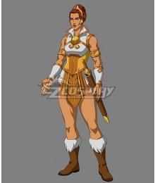 Masters of the Universe: Revelation Teela Halloween Cosplay Costume