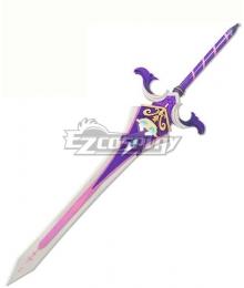 Genshin Impact Chongyun Sacrificial Greatsword Cosplay Weapon Prop