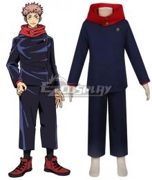 Kids Size Jujutsu Kaisen Sorcery Fight Yuji Itadori Cosplay Costume