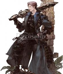 Final Fantasy XIV FF14 Gunbreaker Cosplay Costume