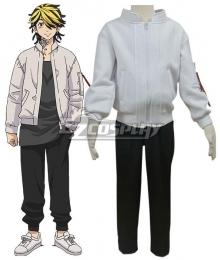 Kids Size Tokyo Revengers Valhalla Keisuke Baji Kazutora Hanemiya Cosplay Costume