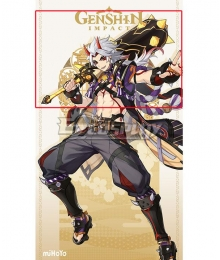 Genshin Impact Arataki Itto Mace Cosplay Weapon Prop