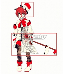 Vocaloid Fukase Hat Cane Cosplay Accessory Prop