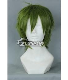 Free!-Tachibana Makoto Bingle Green Cosplay Wig-327A