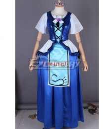 Love Live! Sunshine!! WATER BLUE NEW WORLD Mari Ohara Long Cosplay Costume