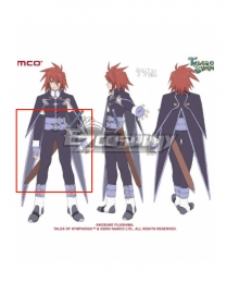 Tales of Symphonia Kratos Aurion Sword Cosplay Weapon Prop