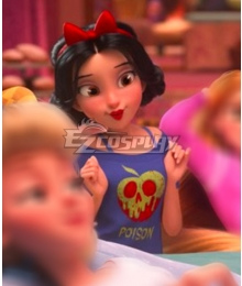 Disney Ralph Breaks The Internet: Wreck-It Ralph 2 Princess Snow White Pajamas Cosplay Costume
