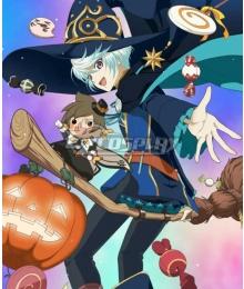 Tales of Zestiria Mikleo Blue Cosplay Costume