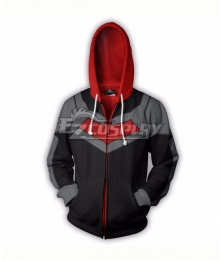 DC Comics Red Hood Jason Todd Coat Hoodie Cosplay Costume
