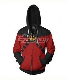 DC Comics Red Robin Tim Drake Coat Hoodie Cosplay Costume