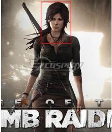 Tomb Raider Season Lara Croft Black Cosplay Wig