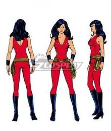 DC Donna troy Wonder girl Cosplay Costume