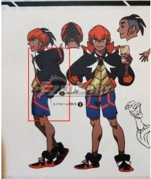 Pokemon Sword & Shield Raihan Cosplay Costume Only Coat