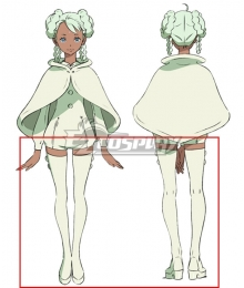 Gundam Reconguista in G Raraiya Mandi White Shoes Cosplay Boots