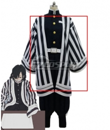 Demon Slayer: Kimetsu no Yaiba Obanai Iguro White Cosplay Costume Only Coat