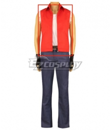 The King of Fighters KOF Terry Bogard Cosplay Costume Only vest