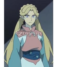 Voltron: Legendary Defender Romelle Golden Cosplay Wig