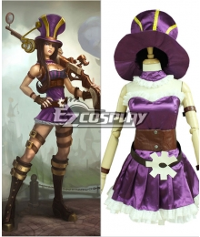 League of Legends Caitlyn Cosplay Costume