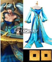 League of Legends Sona Buvelle/Maven of the Strings Cosplay Costume
