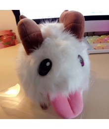 League of Legends LOL Poro Gooney Soft Plush Stuffed Toy Figure Doll