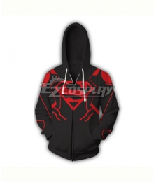 DC Comics Superboy Conner Kent Coat Hoodie Cosplay Costume