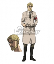 Attack On Titan Final Season Zeke Jaeger Cosplay Costume