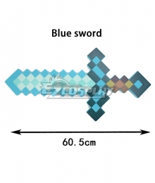 Minecraft First Person Sword Cosplay Weapon Prop