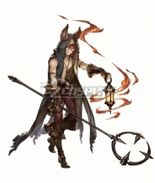Granblue Fantasy Elmott Cosplay Costume