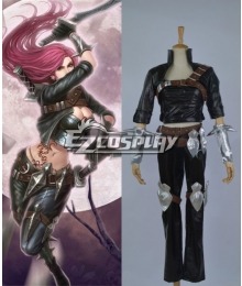 League of Legends Katarina Cosplay Costume