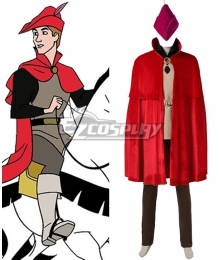 Disney Sleeping Beauty Prince Phillip Cosplay Costume